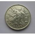 2 рубля - Москва - 55-я годовщина Победы в Великой Отечественной войне 1941-1945 гг