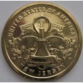 1 доллар США - Лампочка Эдисона